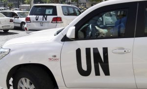U.N. chemical weapons experts who are investigating…