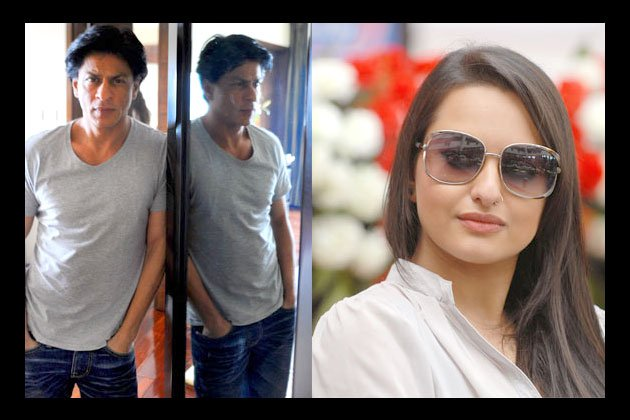 Sonakshi Sinha and SRK Khan
