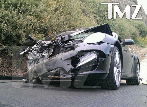 Lindsay Lohan Hospitalized After Bad Car Accident
