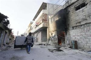 People loot furniture after soldiers loyal to Syria's …
