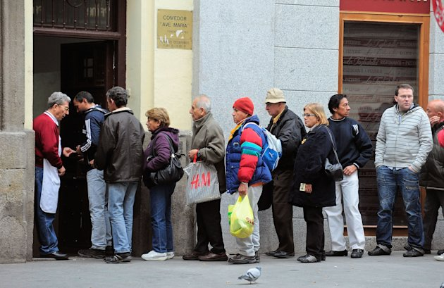 Economic Crisis In Spain Worsens As A General Election Looms