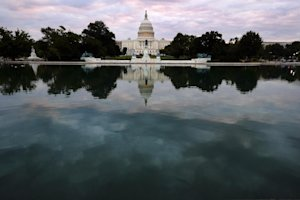 The Capital is mirrored in the Capital Reflecting Pool …