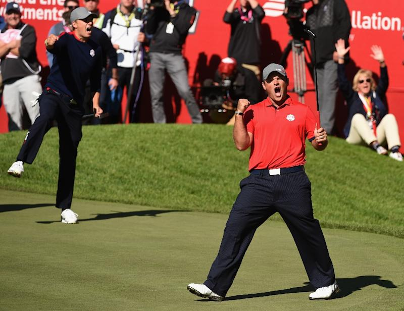 Image result for Patrick Reed screaming image