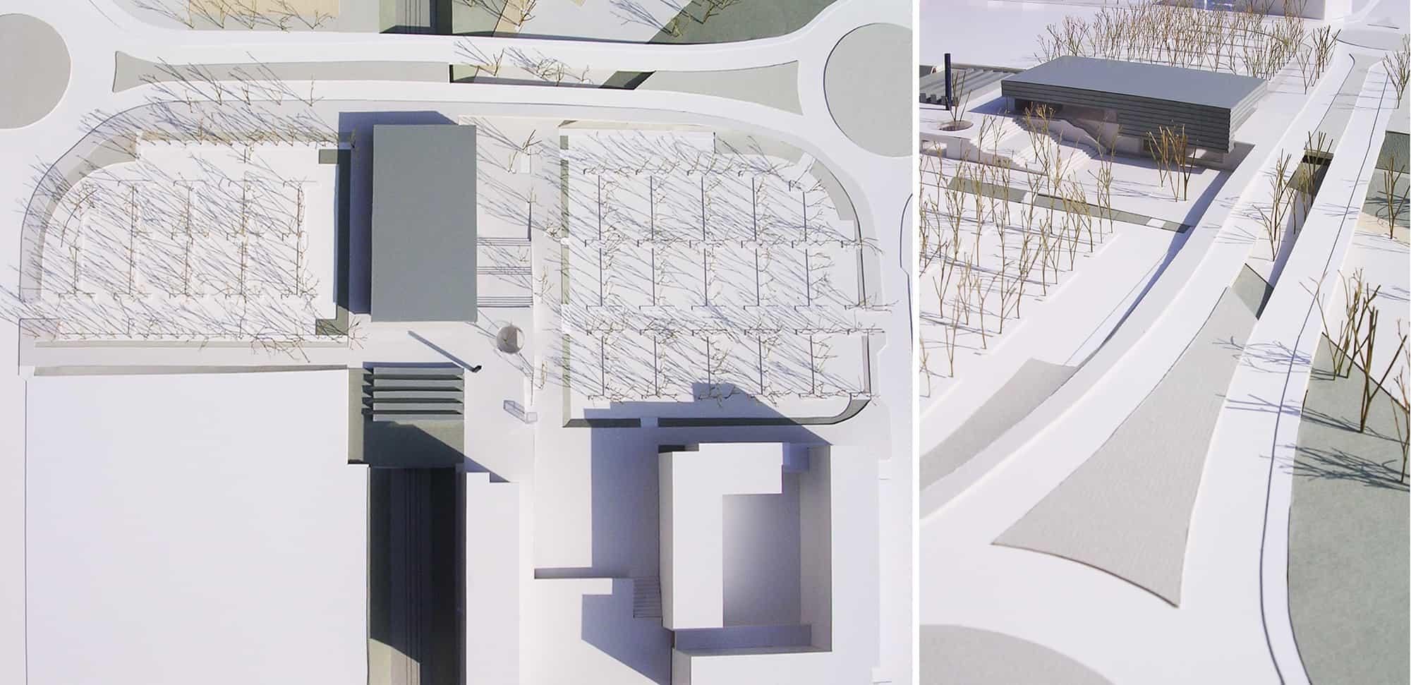 Estación Rivas Futura METRO de Madrid - maqueta - arquitectura transporte - LGV+LANDINEZ+REY | equipo L2G arquitectos, slp [ eL2Gaa ]