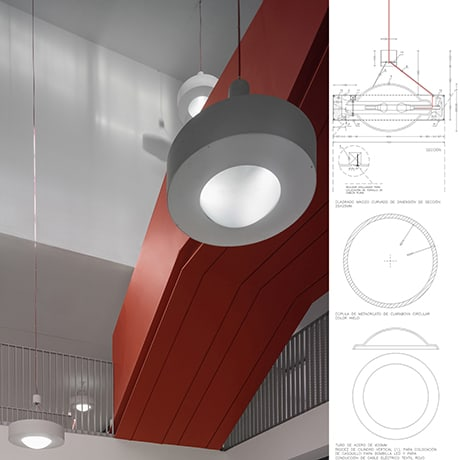 Diseño Industrial, luminarias LANDINEZ+REY   equipo L2G arquitectos, slp [ eL2Gaa ]