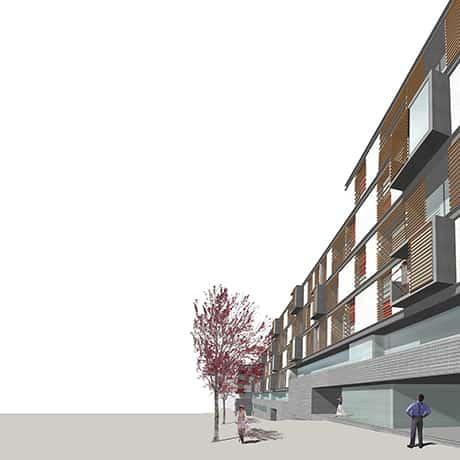 PORTFOLIO arquitectura - primer premio concurso viviendas Getafe - LANDINEZ+REY arquitectos [e L2Gaa ]