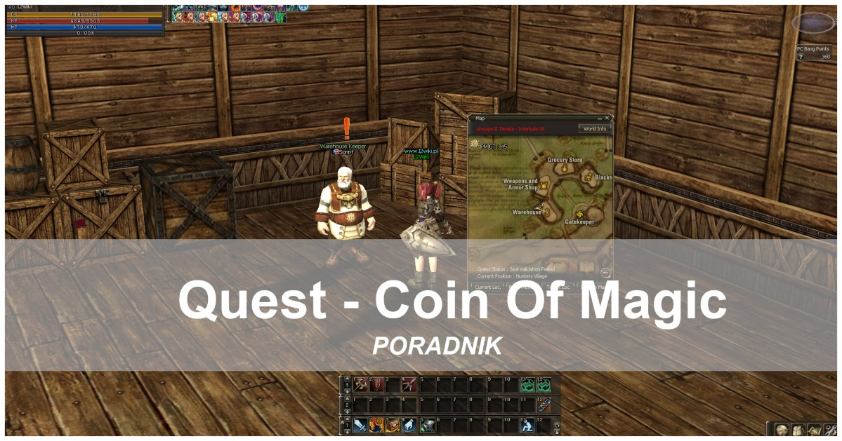 Quest Coins-of-Magic L2Wiki.pl
