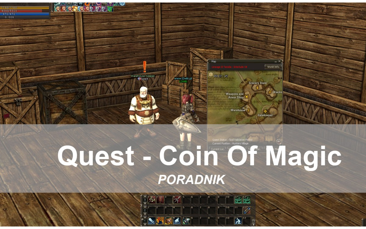 Quest powtarzalny – Coin of Magic