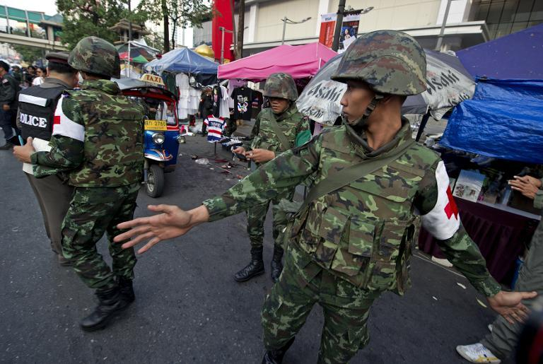 Thai army chief cautions nation may 'collapse' as violence mounts