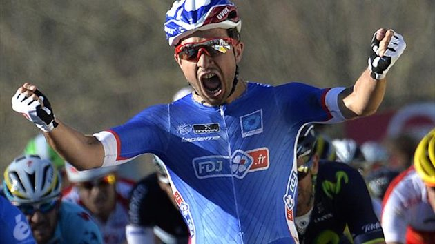 Nacer Bouhanni wins Paris Nice stage 1 (AFP)
