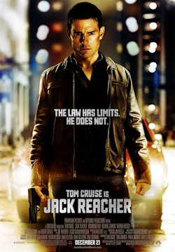 Tom Cruise in 'Jack Reacher'