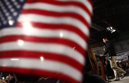 Republican vice presidential candidate Paul Ryan attends a campaign event in Castle Rock, Colorado November 4, 2012. REUTERS/Eric Thayer