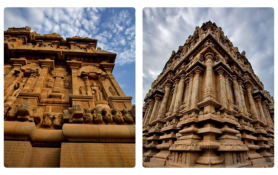 Thanjavur, Tamil Nadu Thanjavur, 342 km from Chennai is where Tamil Nadu's cultural heart beats. Its monumental shrine to Brihadishwara called a Great Living Chola Temple. Built by Raja Raja Chola I in 1011 to commemorate the victory of the Chola dynasty, this architectural gem remains brings together religious fervor and architectural grandeur as it did centuries ago.  See more photos of Thanjavur