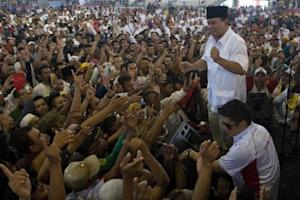 Indonesian presidential candidate Prabowo Subianto …