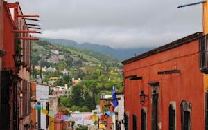 A view of San Miguel de Allende, in the Mexican state…