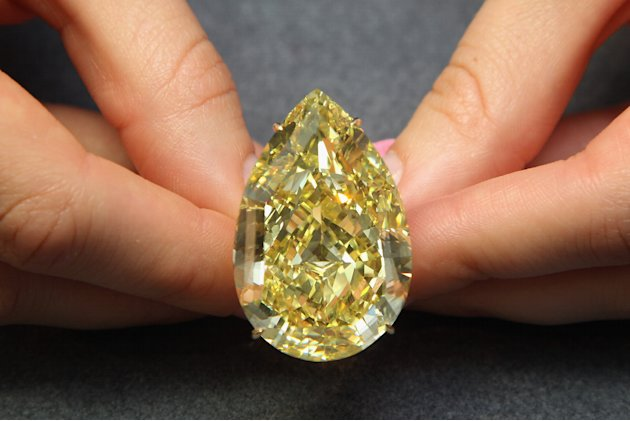 A Sun Drop Diamond Forms Part Of Sothebys Magnificent Jewels Sale