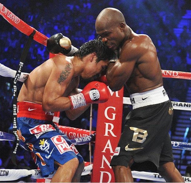 Timothy Bradley (R) Of The …