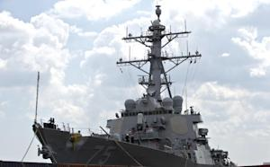 The USS Donald Cook is docked in the Black Sea port…