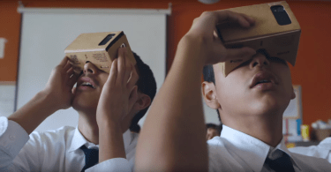 Google Expeditions Cardboard Classroom VR