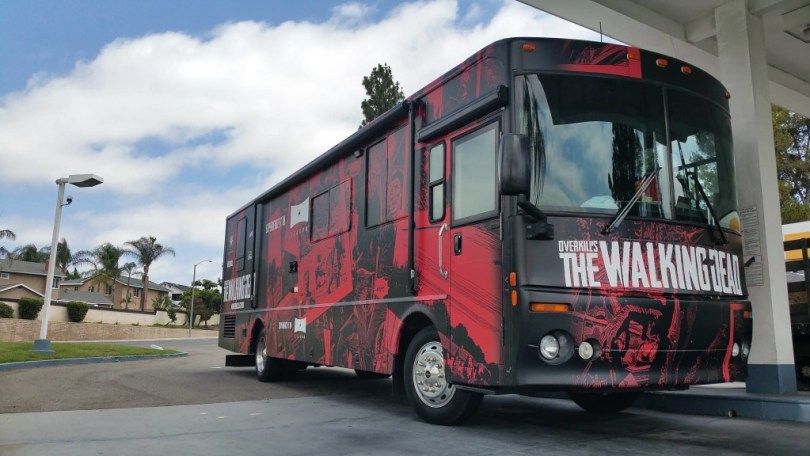 On the road with the Walking Dead VR RV