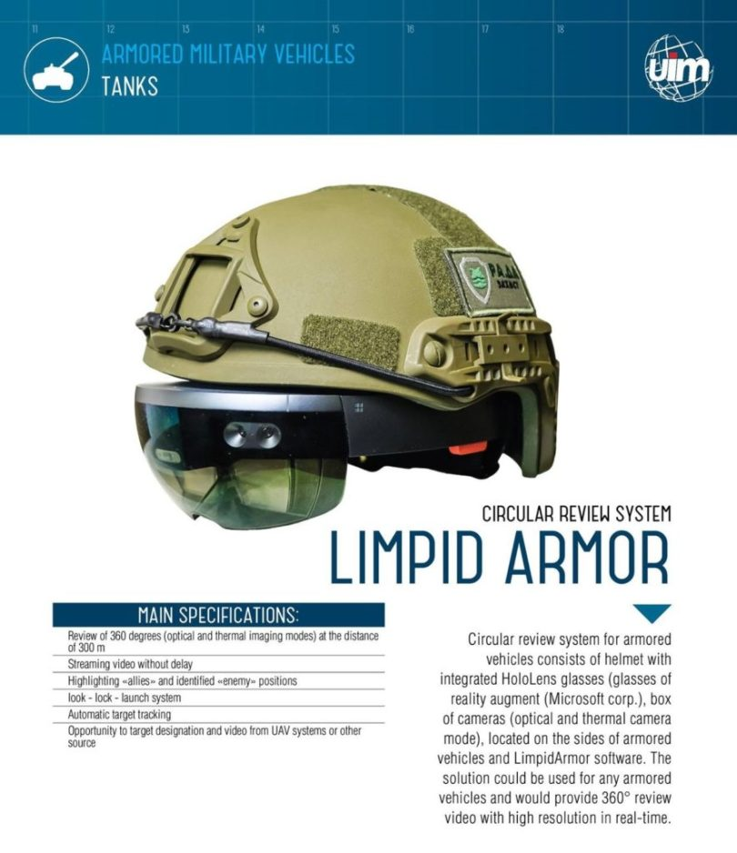Limpid Armor Circular Review System Specifications