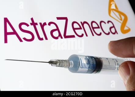 astrazeneca logo stock photo alamy