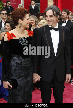 Daniel Day Lewis And Wife Rebecca Miller Watch Bruce