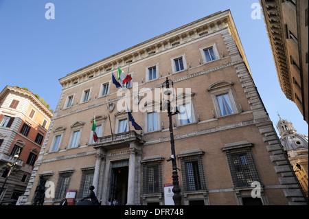 Italy Rome Palazzo Valentini Stock Photo Royalty Free