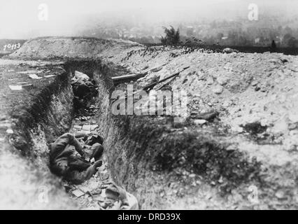 WW1 French Trenches 1918 World War 1 Western Front German