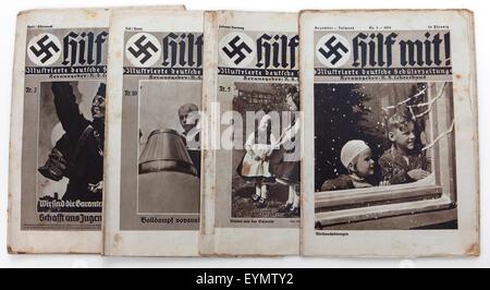 Germany Third Reich Boy Fascism Roman Salute Fascist