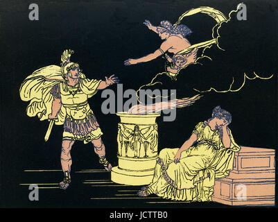 Download greek gods set illustration Stock Photo - Alamy