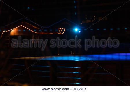 Neon Heart Stock Photo Royalty Free Image 310689387 Alamy