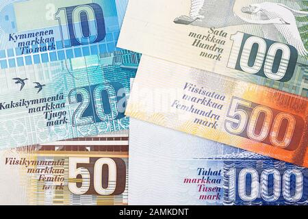 Geld Finanzen Banknoten Finnland 5000 Mark Finnische Zentralbank 1945 Zusatzrechte Clearences Nicht Vorhanden Stockfotografie Alamy