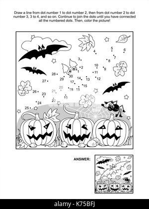Malvorlagen Halloween Krbisse Stockfoto Bild 127663311