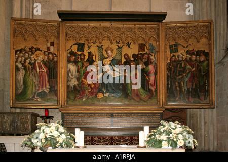 La Catedral de Colonia, el altar de los Patronos de la ciudad, c ...