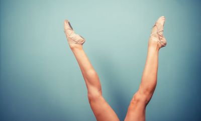 Des jambes galbées sans talons