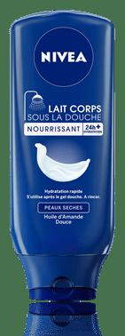 Lait corps sous la douche hydratant, 250 ml et 400 ml, Nivea, 5.92€