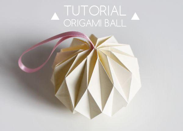 boule en origami