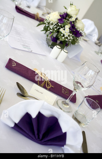 Sunset Purple Blue And Silver Wedding