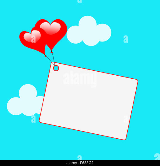 Copyspace Tag Meaning Valentines Day Stock Photos