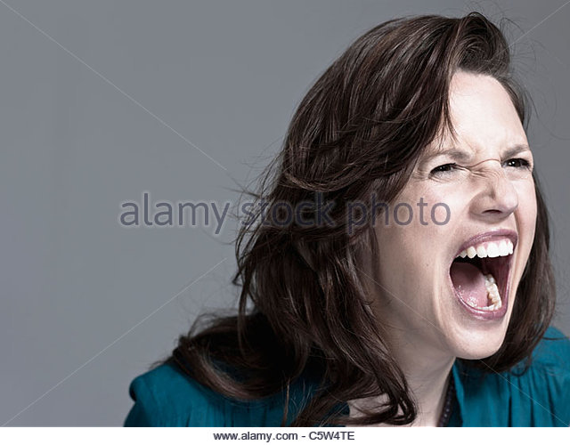 Image result for screaming woman