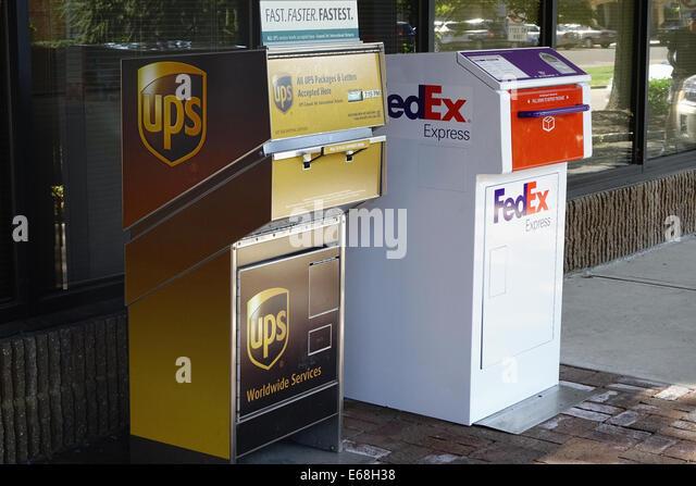 Inside Fedex Ground Delivery Truck