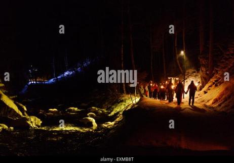 Image result for pictures of kids holding torches in a tunnel