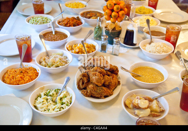 Fried Chicken Southern Food Usa Stock Photos Amp Fried