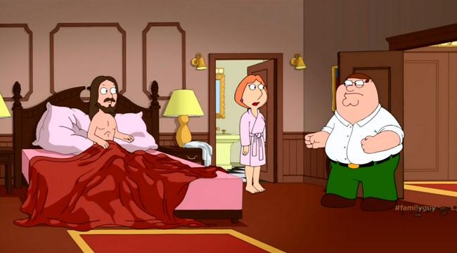 Lois and meg griffith having sex