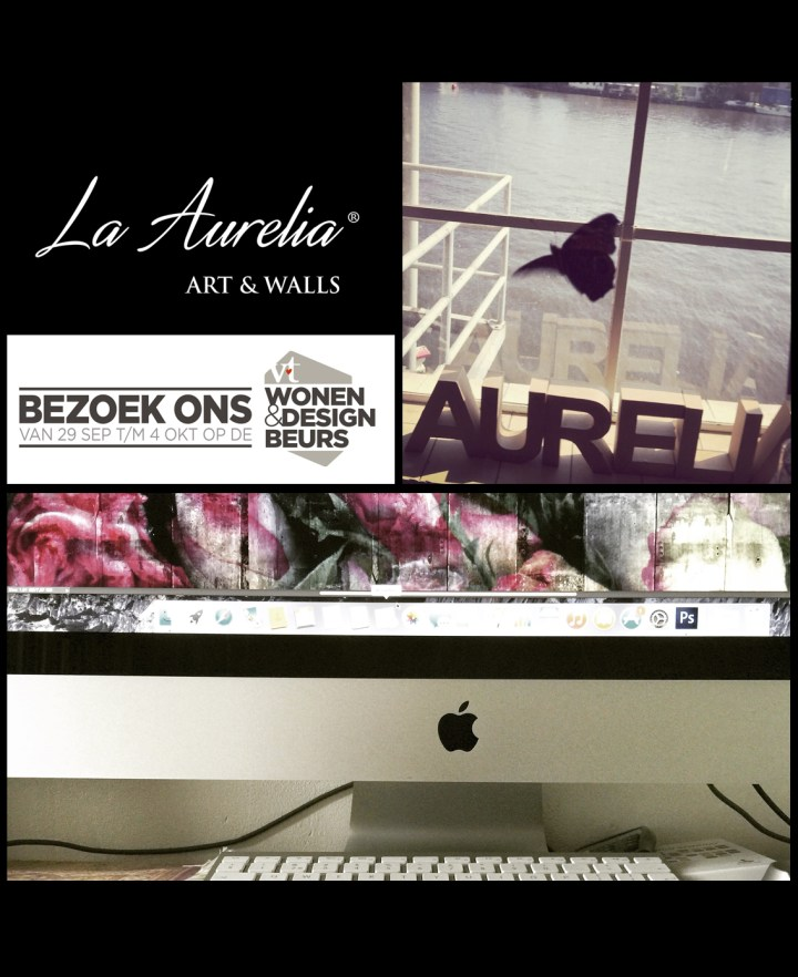 Pre-launch La Aurelia Dutch Dreams behangcollectie VT Wonen en Design beurs 2015!