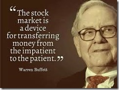 impatience-Warren buffet