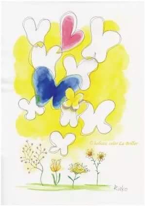 今日のテーマカラー:黄色「Spring has come!」