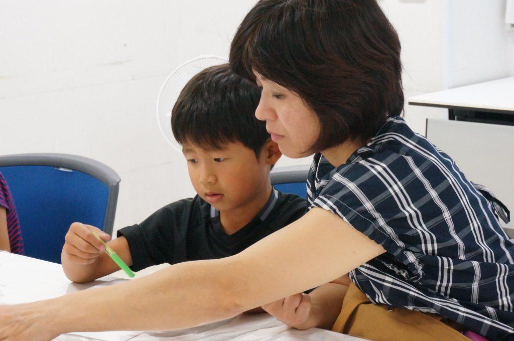 子ども夏休み自由研究「つくろう!カラフル石けん」。名古屋・奈良開催。小学生対象。ぬり絵。無意識。