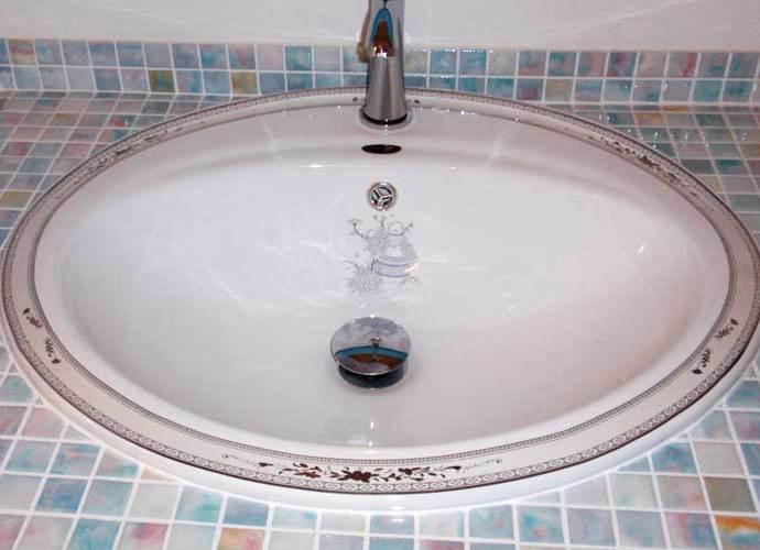 洗面ボール 陶器 白